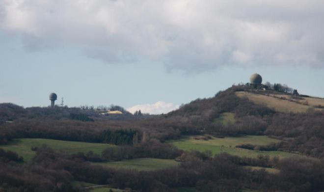 Radars du mont Verdun